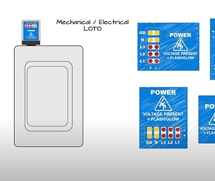 GracePESDs® Flex-Mount Voltage Indicator