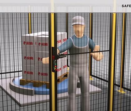 Safety Handle P KUBE 2 – Pizzato Elettrica