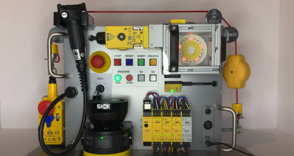 "SORT Review – SICK Safety Demo Box ""Flexi Soft Safety Controllers"""