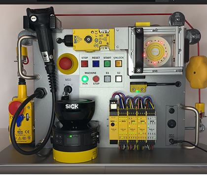 """SORT Review – SICK Safety Demo Box """"Flexi Soft Safety Controllers"""""""