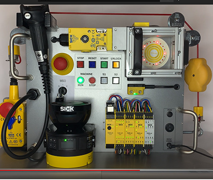 """SORT Review – SICK Safety Demo Box """"RE1 Non-Contact Safety Switches"""""""