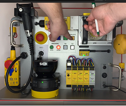 """SORT Review – SICK Safety Demo Box """"STR1 Non-Contact Safety Switches"""""""