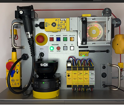 """SORT Review – SICK Safety Demo Box """"I150 Safety Command Device"""""""
