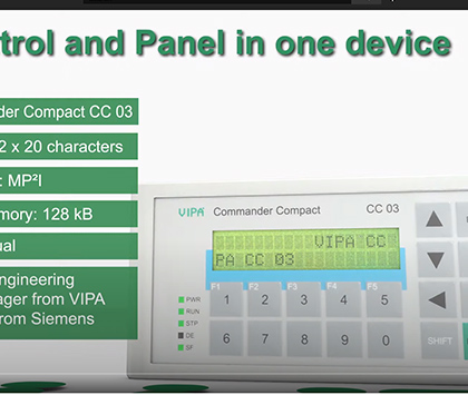 VIPA HMI Touch Panel Line Display Systems Video
